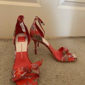 Dolce Vita Shoes - DOLCE VITA HELANA HEELS - red/size 8.5